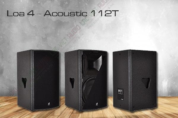 Thương hiệu loa 4 Acoustic