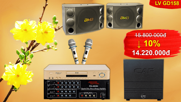 Bộ dàn karaoke cao cấp LV GC-158