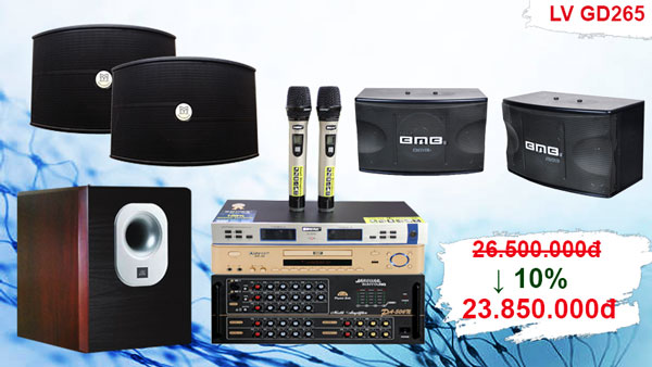 Bộ dàn karaoke cao cấp LV GD-265