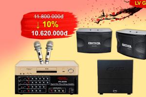 Bộ dàn karaoke cao cấp GD-118