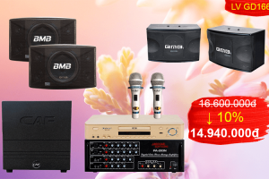 Bộ dàn karaoke cao cấp GD-166