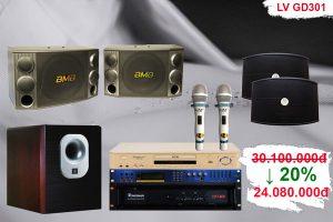 Dàn karaoke cao cấp LV GD-301 đẳng cấp giá rẻ