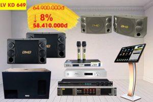 Bộ dàn karaoke gia đình LV 58 410 000đ