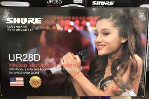 Hình ảnh micro Shure UR28D nhập khẩu