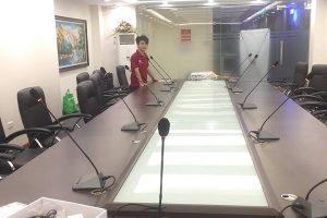 Lạc Việt Audio lắp đặt hệ thống âm thanh hội thảo