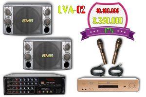 Bộ dàn karaoke gia đình LVA-02