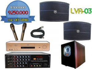 Bộ dàn karaoke LVA-03 đẳng cấp cao