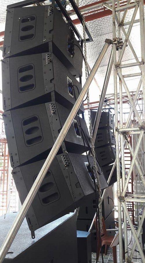 Dàn loa Array đăng cấp vượt trội tại Lạc Việt Audio