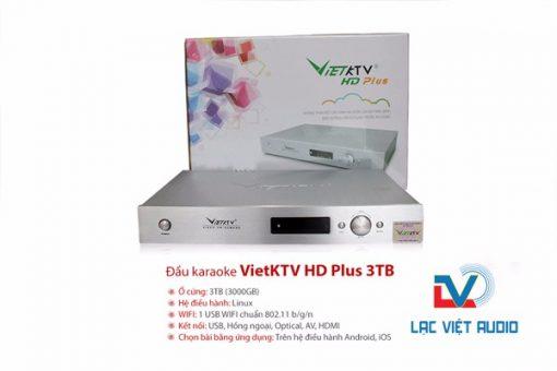 Đầu Việt KTV Plus 3TB chất lượng cao.