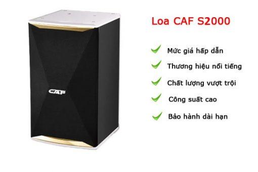 Loa CAF S2000
