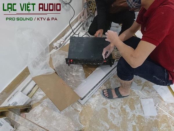 Setup hệ thống loa âm trần Toa
