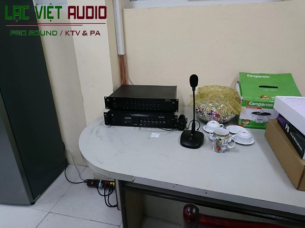Các thiết bị lắp đặt cho dự án