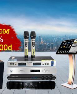 Bộ dàn karaoke gia đình LV KD 884