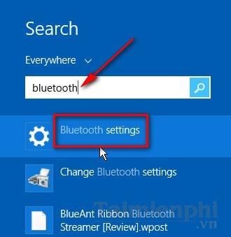 Cách kết nối bluetooth laptop với loabluetooth win 8.1 pro