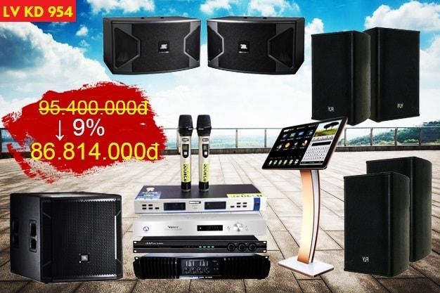 Bộ dàn karaoke KM còn 86.800.000