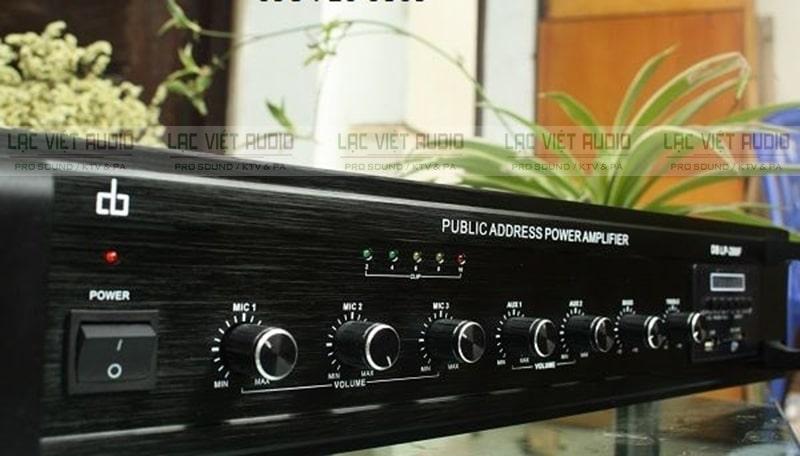 Amply DB có thiết kế hiện đại và nhiều tính năng ưu việt - ảnh sản phẩm amply DB LP-280F