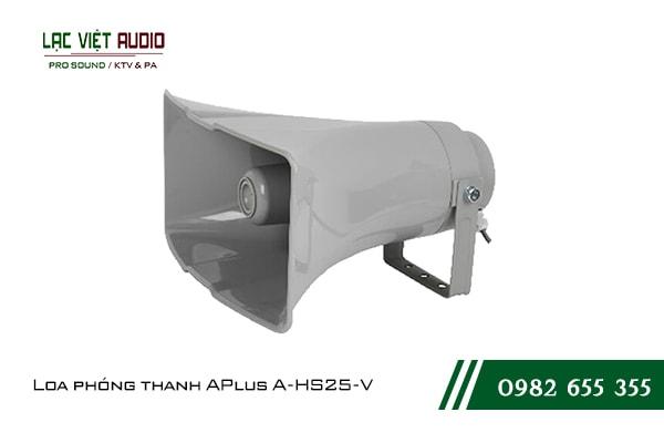 Giới thiệu về sản phẩm Loa phóng thanh APlus A HS25 V