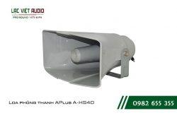 Giới thiệu về sản phẩm Loa phóng thanh APlus A HS40