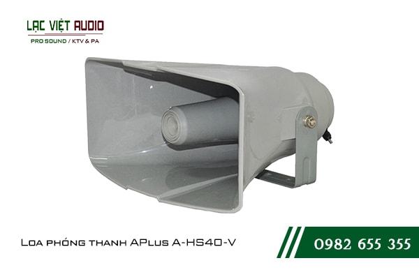Giới thiệu về sản phẩm Loa phóng thanh APlus A HS40 V