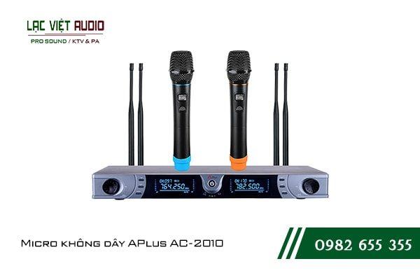 Giới thiệu về sản phẩm Micro không dây APlus AC 2010