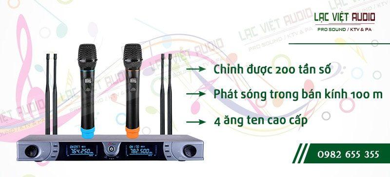 Các đặc điểm nổi bật của sản phẩm Micro không dây APlus AC 2010