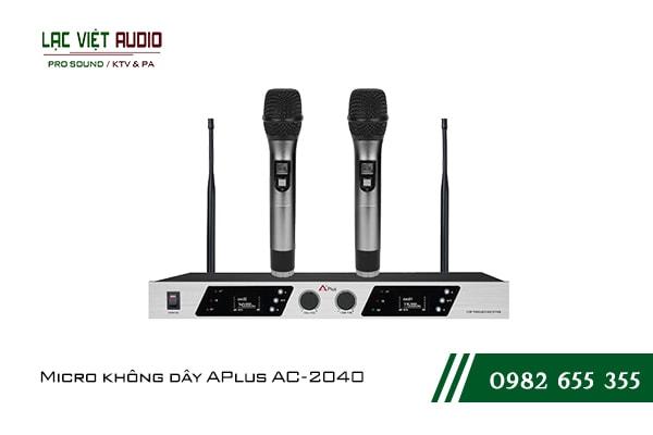 Giới thiệu về sản phẩm Micro không dây APlus AC 2040