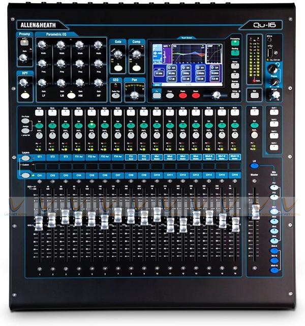 Mixer số Allen & Heath QU–16 chính hãng