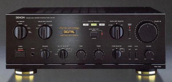 Ampli Denon 780D ghép với loa gì ?