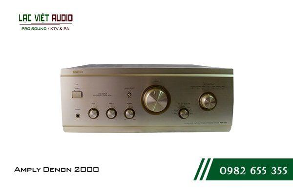 Giới thiệu về sản phẩm Amply Denon 2000