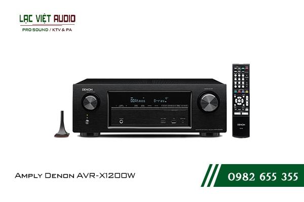 Giới thiệu về sản phẩm Amply Denon AVR X1200W