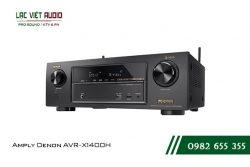 Giới thiệu về sản phẩm Amply Denon AVR X1400H