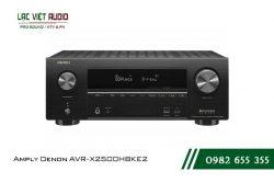 Giới thiệu về sản phẩm Amply Denon AVR X2500HBKE2