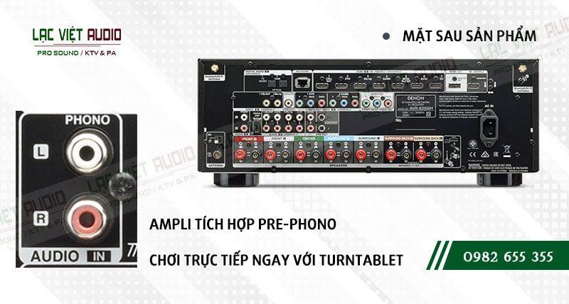 Các đặc điểm nổi bật của sản phẩm Amply Denon AVR X2500HBKE2