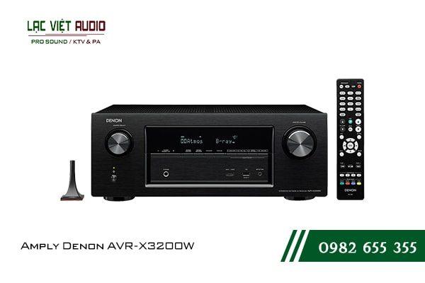 Giới thiệu về sản phẩm Amply Denon AVR X3200W