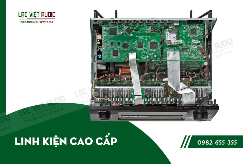 Các đặc điểm nổi bật của sản phẩm Amply Denon AVR X3200W