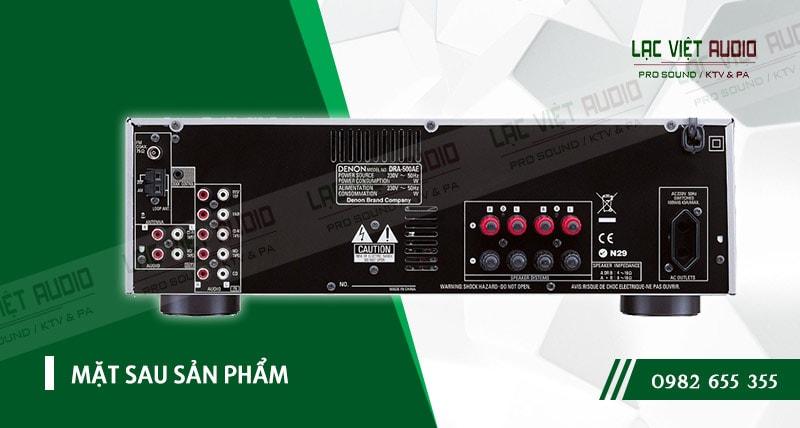 Thiết kế bên ngoài của sản phẩm Amply Denon DRA 500AE