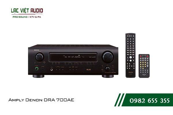 Giới thiệu về sản phẩm Amply Denon DRA 700AE