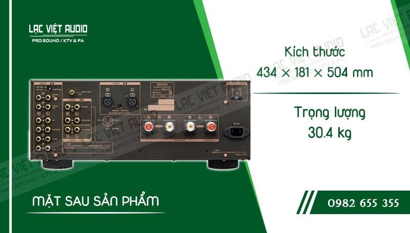 Thiết kế bên ngoài của sản phẩm Amply Denon PMA SX1