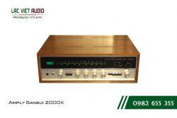 Giới thiệu về sản phẩm Amply Sansui 2000X