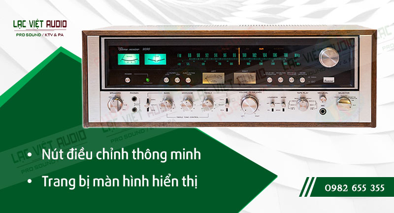 Các đặc điểm nổi bật của sản phẩm Amply Sansui 9090