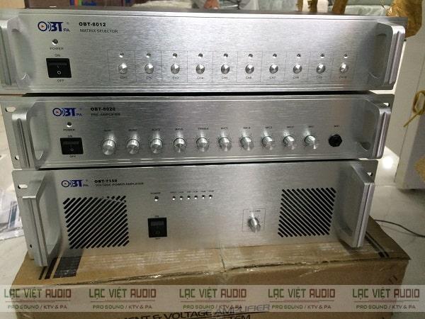 Amply phát thanh là thiết bị chuyên dụng trong hệ thống âm thanh thông báo