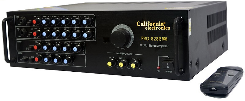 Amply công suất lớn California Pro 828R