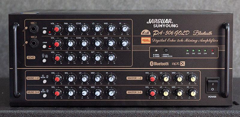 Amply công suất lớn Jarguar 506N Gold