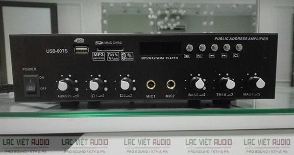 Amply loa âm trần có tác dụng khuếch đại và xử lý tín hiệu âm thanh