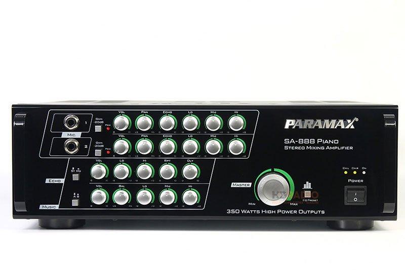 Amply karaoke Paramax cũng bán rất chạy trong thời gian gần đây