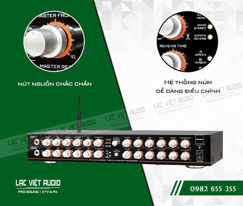 Amply paramax DX 2500 AIR DSP chính hãng