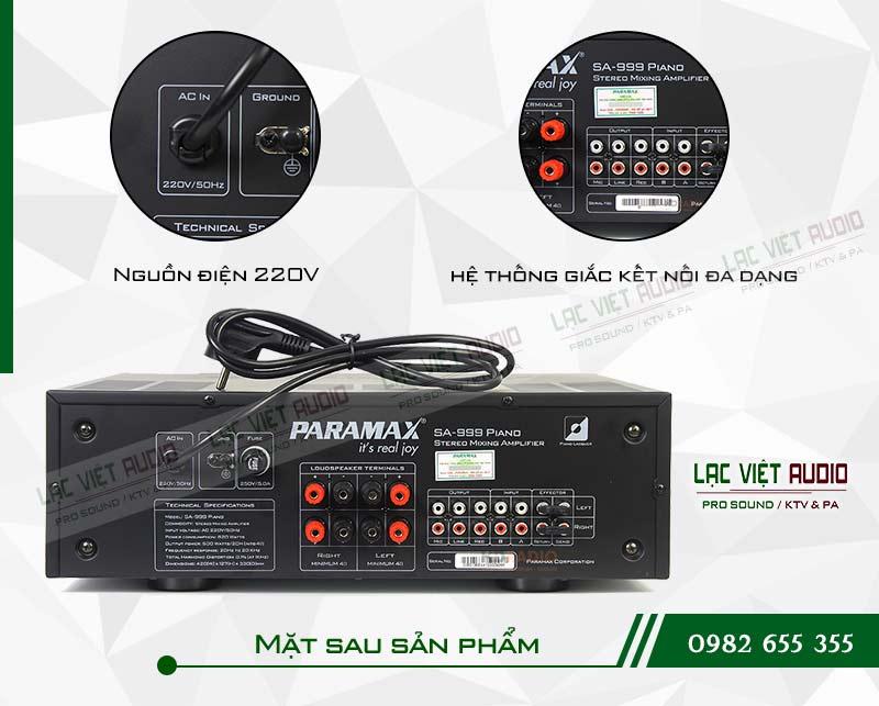 Amply paramax SA 999 PIANO NEW măt sau sản phẩm