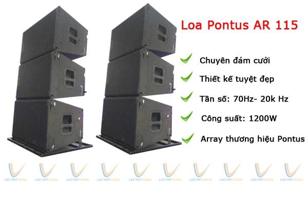 Loa array Pontus Ar115