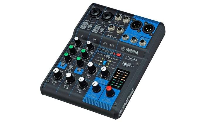 Bàn mixer mini karaoke – Yamaha MG06X