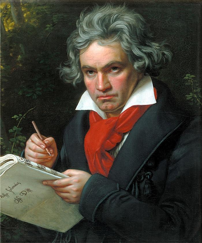 Beethoven là cái tên nổi tiếng không kém gì mozart trong dòng nhạc baroque